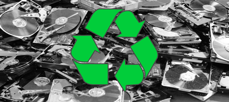 31.10.2019 - Why recycle hard drives?