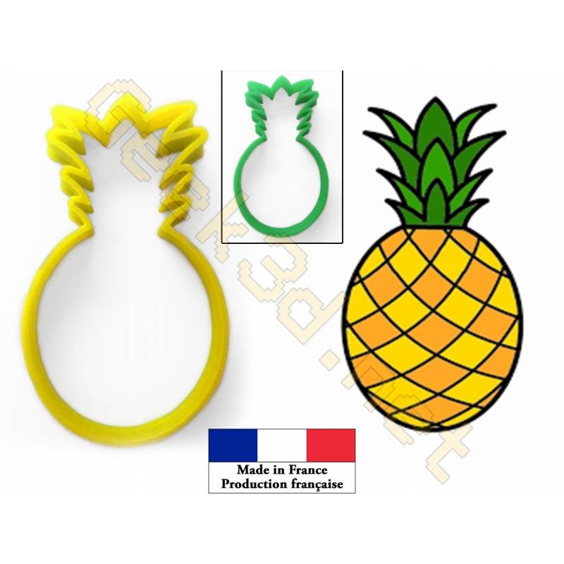 Cookie cutter Pineapple Ananas