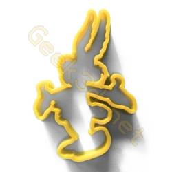 Cookie cutter Asterix yellow