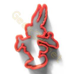 Cookie cutter Asterix red