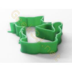 Cookie cutter Cat green