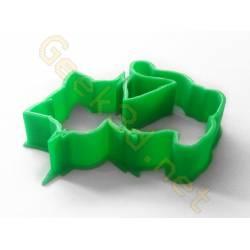 Emporte-pièce chat vert