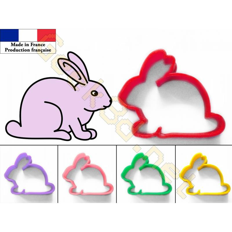 Cookie cutter Rabbit