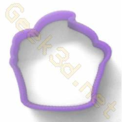 Emporte-pièce Cupcake violet