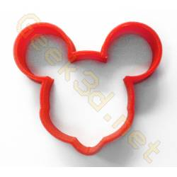 Emporte-pièce Mickey Mouse rouge