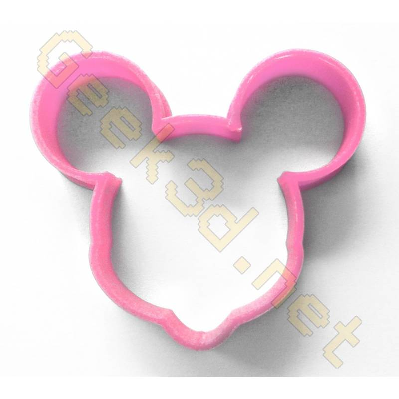 Cookie cutter Minnie Mouse pink