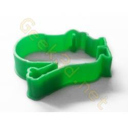 Cookie cutter Minion green