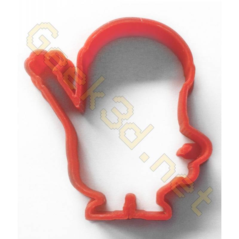 Cookie cutter Minion red