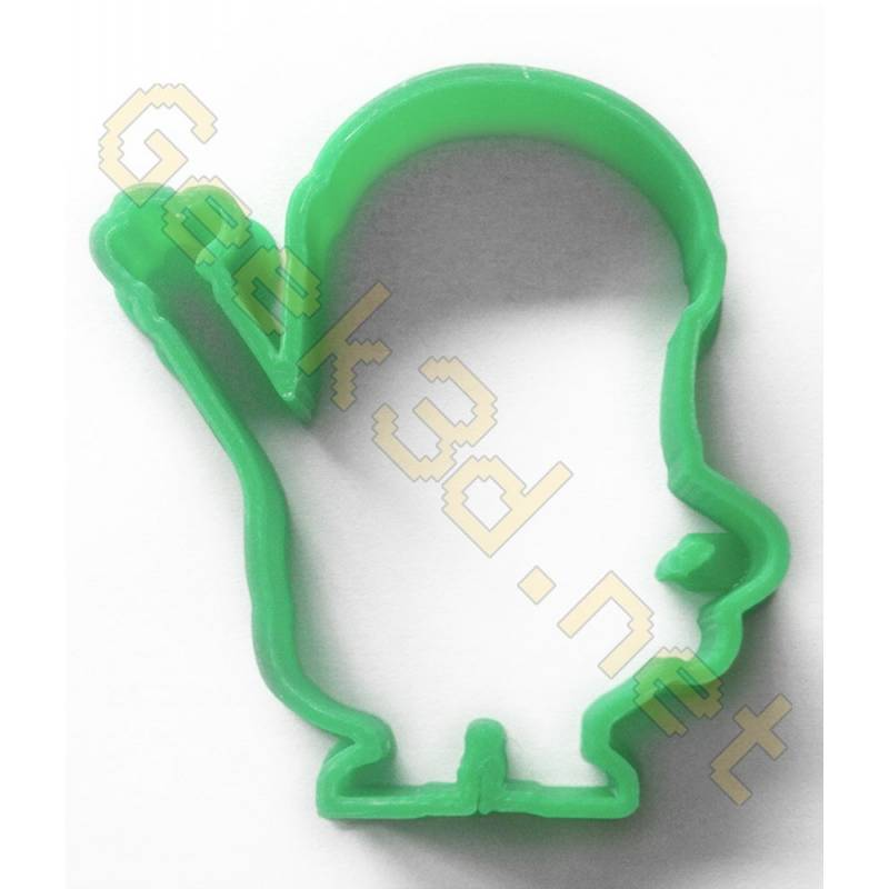 Cookie cutter Minion green