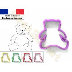 Cookie cutter Teddy bear