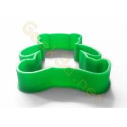 Emporte-pièce Nounours vert