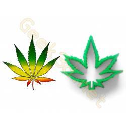 Emporte-pièce Cannabis