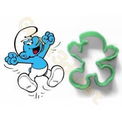 Cookie cutter Smurfs