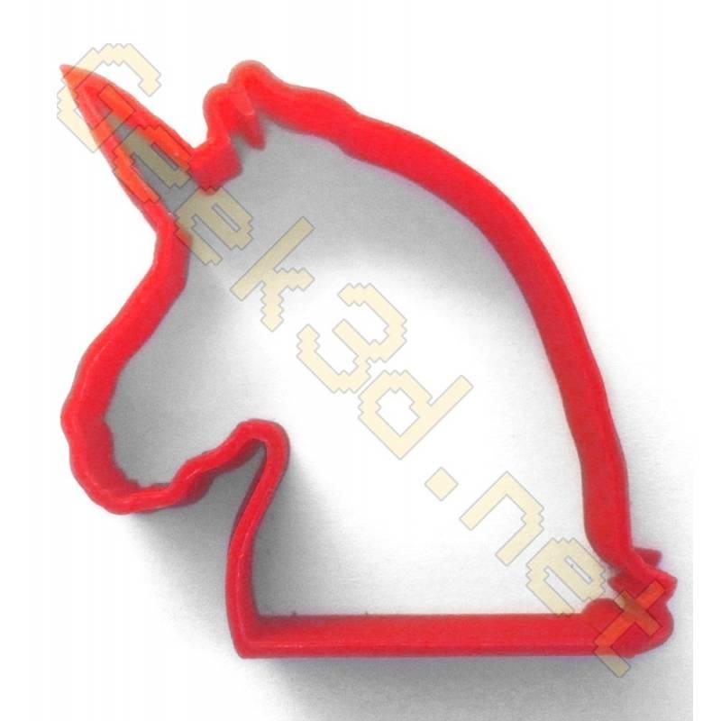 Emporte-pièce Licorne rouge