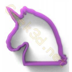 Emporte-pièce Licorne violet