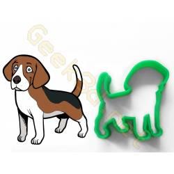 Emporte-pièce chien