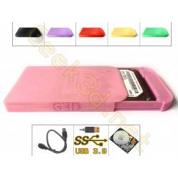 HDD disque dur externe rose