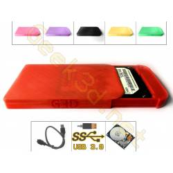 HDD external Hard Drive Disk red