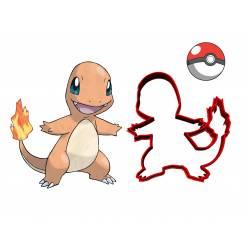 Emporte-pièce Salamèche Pokémon impression 3D