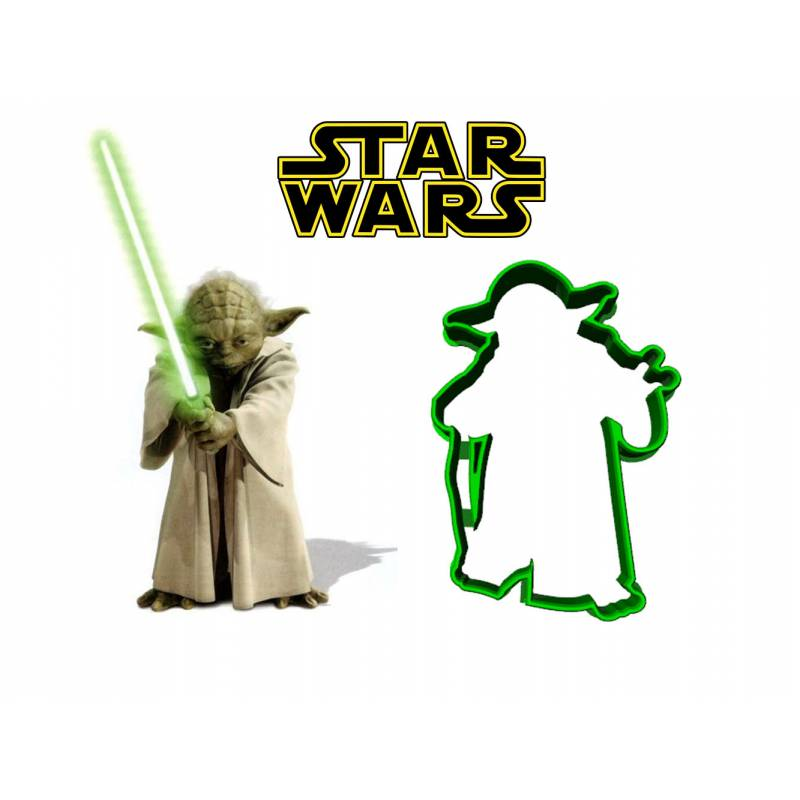 Cookie cutter Yoda Star Wars