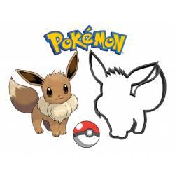 Emporte-pièce Evoli découpoir à biscuit Pokémon impression 3D