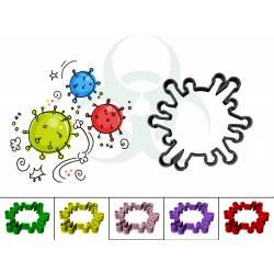 biscuit coronavirus découpoir pâtisserie cookie cutter geek3d covid-19 impression 3D